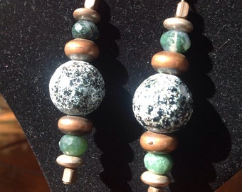 Faceted Agate Dangles