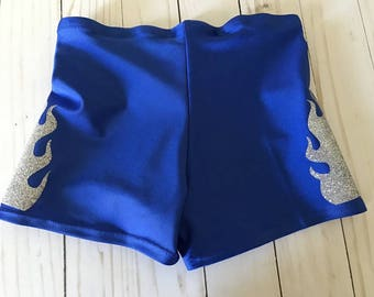 Special Order Gold Cheer Shorts