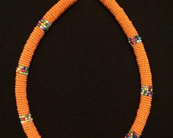 The Choker Massai African beads