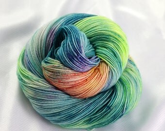 Indie Dyed Yarn, Hand Dyed Yarn, Speckled Sock Yarn, Sock Yarn, Indie Sock Yarn, Indie Sparkle Yarn, Indie Speckled Yarn, Into the Mystic