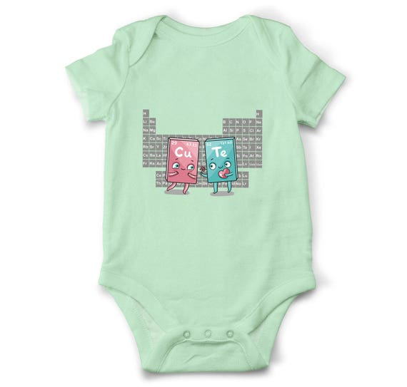 Cute Baby Girl Onesie Geeky Clothes Science