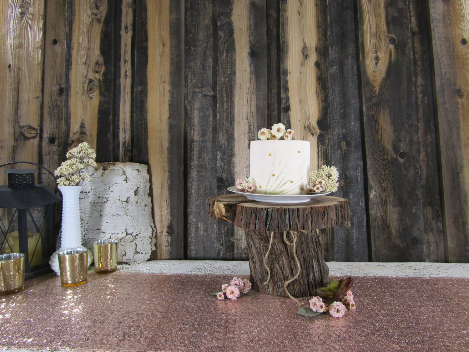 SALE Tiered Cake Stand Wood Cake Stand Rustic Wedding