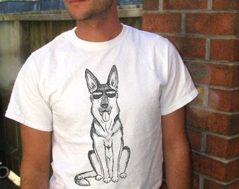 German Shepherd, Dog shirt, German Shepherd gift, Mens tees, Mens tshirt, Animal Shirt, Funny shirt, K9 officer, K9 unit