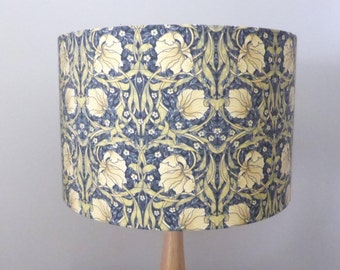 William Morris Pimpernel Lampshade | Floral Lamp Shade | Wallpaper Style | Handmade in Australia