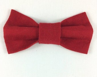 Red Cat Bow tie, Cat tie, Cat Bow tie collar
