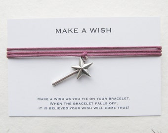 Wish bracelet, friendship bracelet, make a wish bracelet, W53