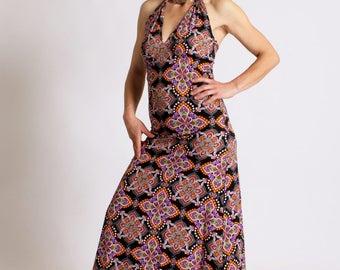 Dress JOAN Nirvana Boho chic Mandala Cosmic Long dress