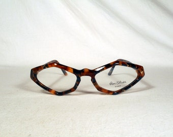 fabulous vintage sunglasses lunettes eyeglasses PER SPOOK carved frame france