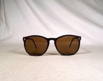 fabulous vintage sunglasses lunettes eyeglasses FACONNABLE carved frame france