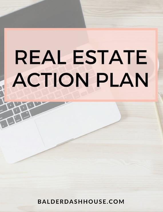real estate agent action plan template real estate templates. Black Bedroom Furniture Sets. Home Design Ideas