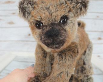 "OOAK bear cub - handmade artist realistic bear - ""Theodore"""