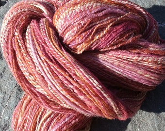 Babydoll Yarn-Hand Spun-Fractal Spun