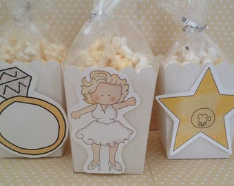 Marilyn Monroe Party Popcorn or Favor Boxes - Set of 10