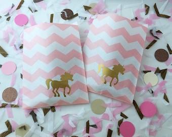 Favor Bags - Unicorn Party - Unicorn Party Supplies - Unicorn Baby Shower - Unicorn Theme - Princess Party - Rainbow Party - Fairy Tales