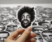 Scribbled Questlove - Vinyl Sticker