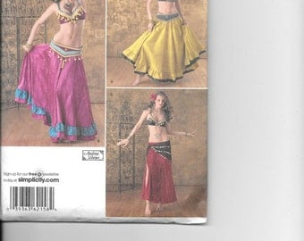 Simplicity 2158 Belly Dancing Pattern