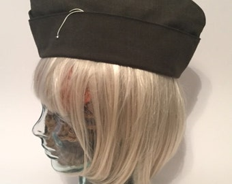 Vintage Military Uniform Hat