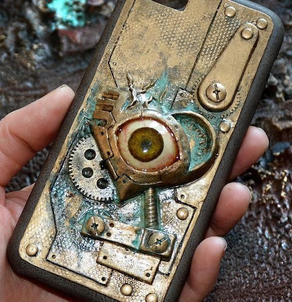 Steampunk phone case iphone 7 case iphone 6 case for Case 3d online