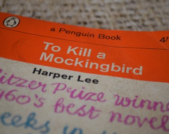 To Kill a Mockingbird. Harper Lee. A Vintage Ladybird Book 1929. 1963.