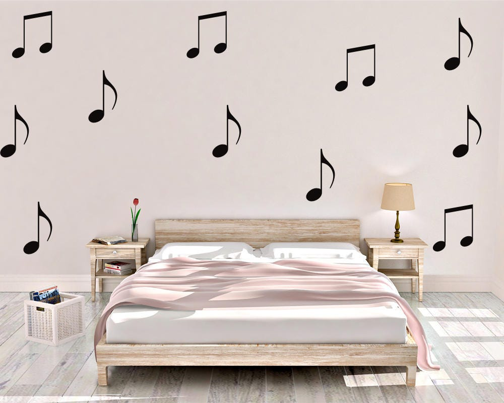 Music notes wall decal music wall decal vinyl wall decal music notes wall decal music wall decal vinyl wall decal music notes music decal music wall decor music home decor amipublicfo Gallery