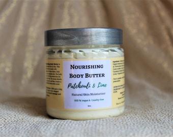 Whipped Body Butter, Organic Body Butter, Natural Body Butter, Skin Moisturizer, Vegan Skincare, Birthday Gift, Bridesmaids Gift Idea, 4oz