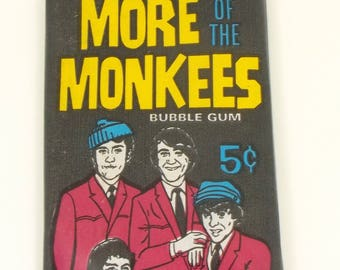 More of the Monkees UNOPENED Package Bubble gum Trading Cards 1967 Vintage