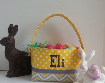 Personalized Easter Basket * Personalized Basket * Easter Basket * Monogrammed Easter Basket * Embroidered Easter Basket * Easter Decoration