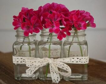 NEW Springtime Flower vase! Party favor, Window decor, Mommy's flower vase, Tea party gift, Bridal shower gift, Baby shower gifts and decor.