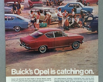 1967 General Motors Buick Opel Kadett Print Ad