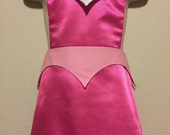 Aurora Princess Dress Up Apron - Sleeping Beauty Reversible