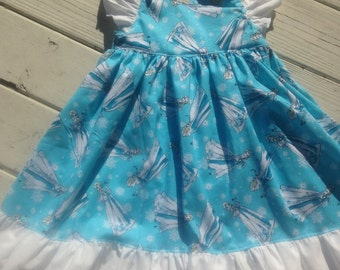 Elsa Princess Dress