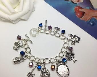 I'm Wishing - Princess inspired charm bracelet. Snow White