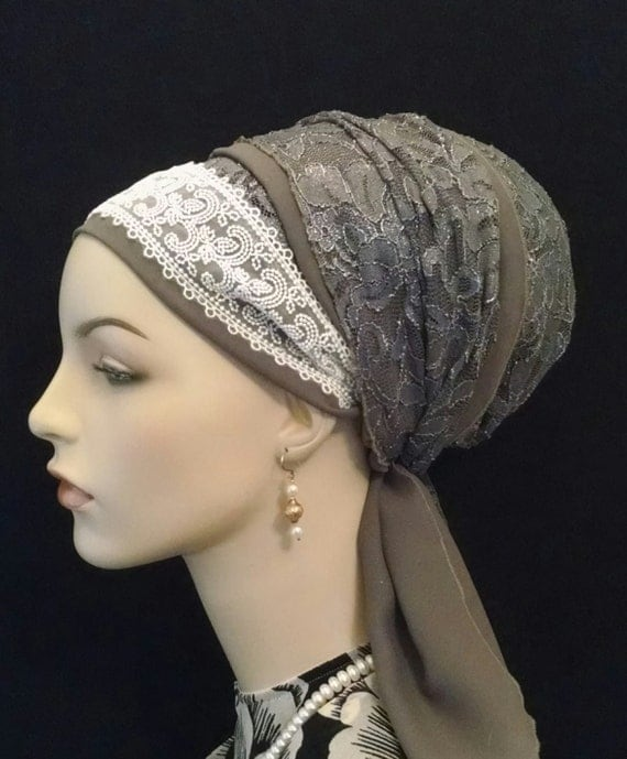 Stunning Sinar tichel for weddings and Shabbat! Tichels, apron tichels, head wraps, chemo scarves, mitpachat