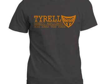 Tyrell Genetic Replicant T Shirt | Blade Runner Inspired | Gift T-shirt | Tee Top