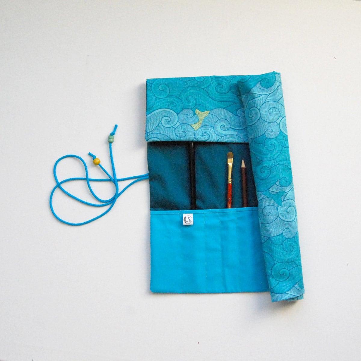 pochette rangement trousse artiste trousse peinture pinceaux. Black Bedroom Furniture Sets. Home Design Ideas