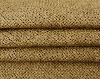 """Brown Burlap, Natural Fabric, Burlap Fabric, Indian Decor, Brown Jute Fabric, Sewing Crafts, 52"""" Inch Burlap Fabric By The Yard ZJC38A"""