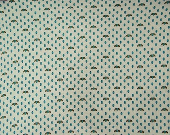 """Dressmaking Fabric, Beetle Print, White Fabric, Decor Fabric, Upholstery Fabric, 38"""" Inch Cotton Fabric By The Yard ZBC7244A"""