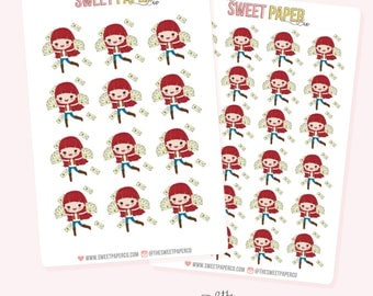 PAYDAY Planner Stickers - Ruby