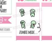 Munchkins - Zombie Mode Planner Stickers (M272)