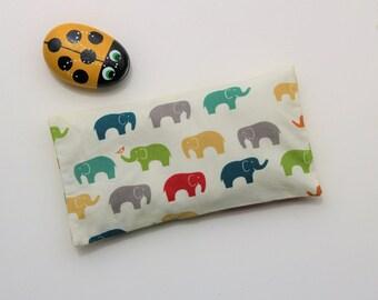 Kids Yoga Eye Pillow: Organic cotton