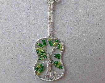 Tree of Life Guitar Pendant