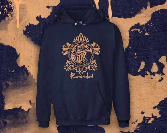 harry potter sweatshirt ravenclaw hoodie zur schau stellen. Black Bedroom Furniture Sets. Home Design Ideas
