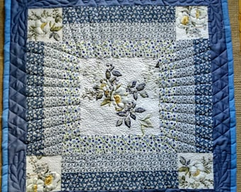 Winter flower quilt