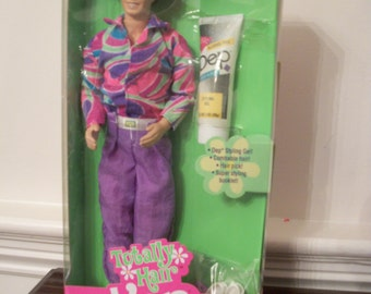 Totally Hair Ken, 1991, Mattel