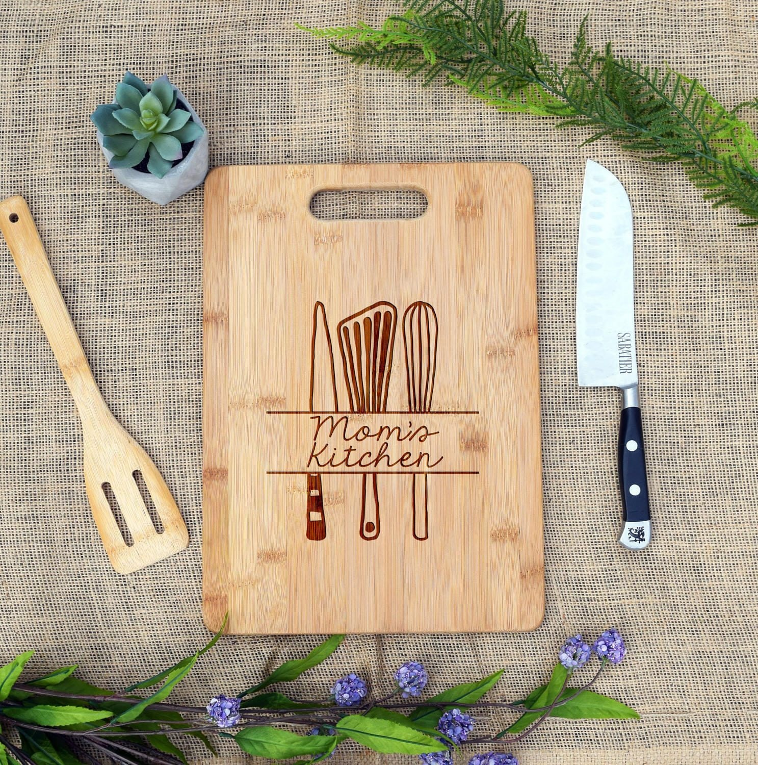 Mommas Kitchen: Mom's Kitchen Personalized Cutting Board Custom Cheese