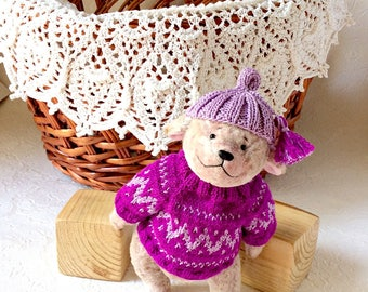 Teddy bear stuffed animals artist bear plush toys plush bear interior toys unique toys teddy