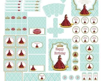 Elena of Avalor Party | Elena of Avalor Birthday | Elena of Avalor Party Decoration | Elena of Avalor Birthday Party | Princess Elena Party