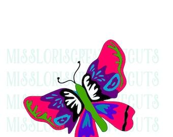 Butterfly Layered SVG Cut file  Cricut explore file t-shirt decal wood signsscrapbook vinyl decal wood sign t shirt cricut cameo