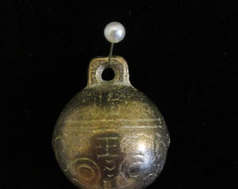Traditional Chinese Metal Bell Pendant