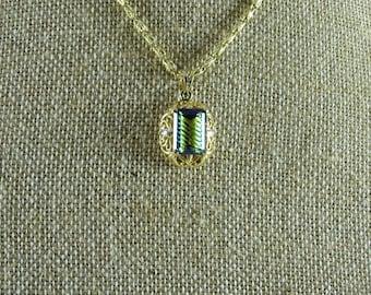 """Mystic Topaz 14K Gold Necklace (18"""")"""